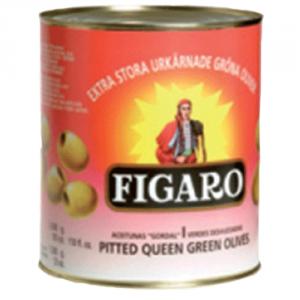 3st gröna oliver urkärnade från Figaro om 3kg vardera billigt hos Kolonialvaror. Alltid bra pris på skafferivaror i storpack. Perfekt för catering storhushåll restaurang och café. Vi levererar till hela Sverige!