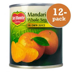 Mandariner I Juice Del Monte 12x298g