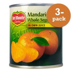 Mandariner I Juice Del Monte 3x298g