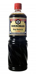 6st japansk soja från Kikkoman om 1liter vardera billigt hos Kolonialvaror. Alltid bra pris på skafferivaror i storpack. Perfekt för catering storhushåll restaurang och café. Vi levererar till hela Sverige!