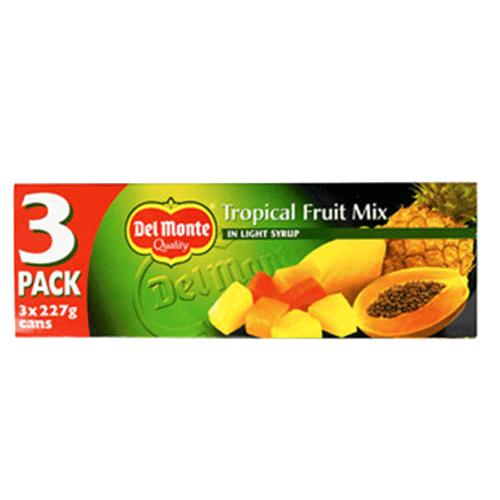 Fruktmix Tropical 8x681g Del Monte