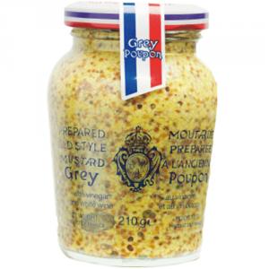 12st dijon senap grov från Grey Poupon om 210ml vardera billigt hos Kolonialvaror. Alltid bra pris på skafferivaror i storpack. Perfekt för catering storhushåll restaurang och café. Vi levererar till hela Sverige!