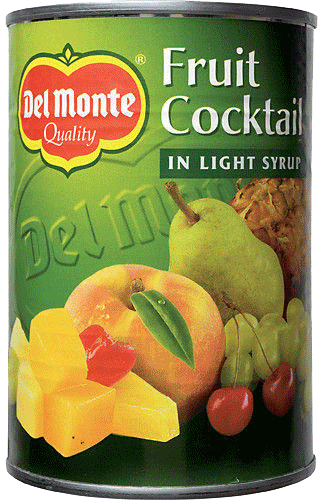 Fruktcocktail I Syrup 3x420g Del Monte