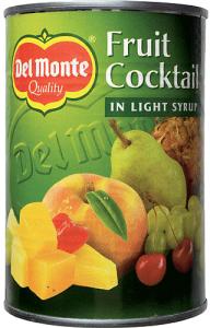 Fruktcocktail I Syrup Del Monte 12x420g