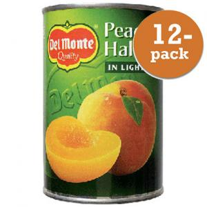 Persikohalvor Diet Del Monte 12x400g