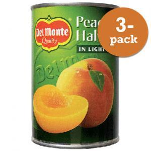 Persikohalvor Diet 3x400g Del Monte