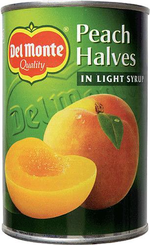Persikohalvor Diet 12x400g Del Monte