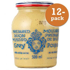 Dijonsenap Grey Poupon 12x500ml