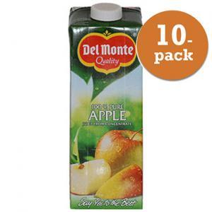 Äppeljuice Del Monte 10x1l