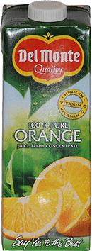 10st apelsin juice från Del Monte om 1liter vardera billigt hos Kolonialvaror. Alltid bra pris på skafferivaror i storpack. Perfekt för catering storhushåll restaurang och café. Vi levererar till hela Sverige!