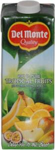 10st tropisk juice från Del Monte om 1liter vardera billigt hos Kolonialvaror. Alltid bra pris på skafferivaror i storpack. Perfekt för catering storhushåll restaurang och café. Vi levererar till hela Sverige!