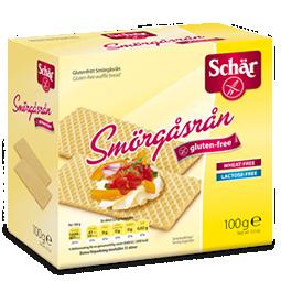 Smörgåsrån Glutenfri 6x100g Dr Schär