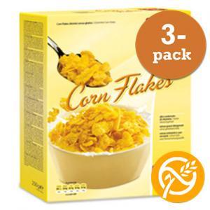 Cornflakes Vitaminberikade Glutenfria 3x250g Dr Schär