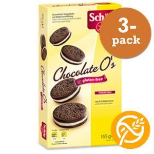Chocolate O´S Glutenfri Dr Schär 3x165g