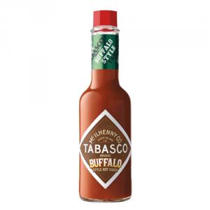 12st buffalo sås från Tabasco om 150ml vardera billigt hos Kolonialvaror. Alltid bra pris på skafferivaror i storpack. Perfekt för catering storhushåll restaurang och café. Vi levererar till hela Sverige!