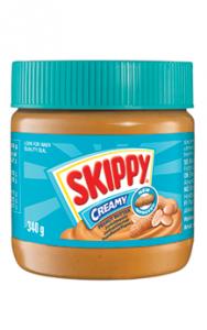 12st jordnötssmör creamy från Skippy om 340g vardera billigt hos Kolonialvaror. Alltid bra pris på skafferivaror i storpack. Perfekt för catering storhushåll restaurang och café. Vi levererar till hela Sverige!