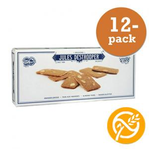 Almond Thins Jules Detrooper 12x100g