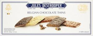 Belgian Chocolate Thins Jules Detrooper 12x100g