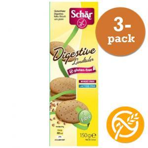 Digestive Glutenfri Dr Schär 3x150g