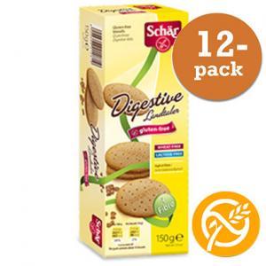 Digestive Glutenfri Dr Schär 12x150g