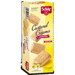 Custard Creams Glutenfri Dr Schär 1x125g KORT HÅLLBARHET