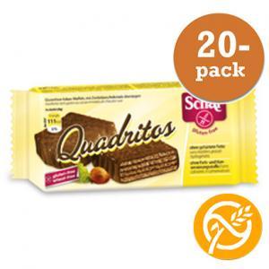 Kexchoklad Quadritos, Glutenfri Dr Schär 20x40g