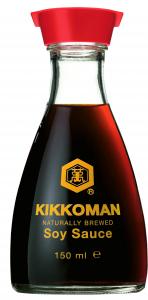 12st japansk soja från Kikkoman om 150ml vardera billigt hos Kolonialvaror. Alltid bra pris på skafferivaror i storpack. Perfekt för catering storhushåll restaurang och café. Vi levererar till hela Sverige!