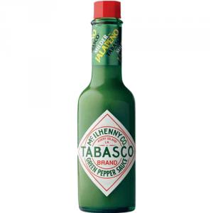 12st grön jalapeno sås från Tabasco om 57ml vardera billigt hos Kolonialvaror. Alltid bra pris på skafferivaror i storpack. Perfekt för catering storhushåll restaurang och café. Vi levererar till hela Sverige!
