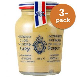 Dijonsenap Grey Poupon 3x215ml