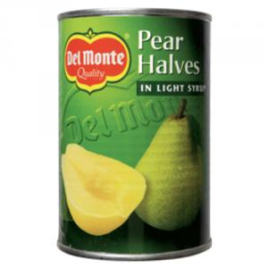 12st Päronhalvor i light syrup från Del Monte om 420g vardera billigt hos Kolonialvaror. Alltid bra pris på skafferivaror i storpack. Perfekt för catering storhushåll restaurang och café. Vi levererar till hela Sverige!