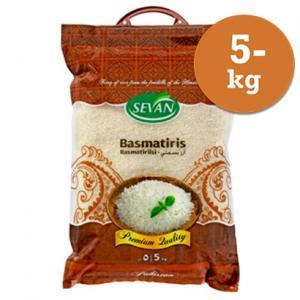 Basmatiris 5kg Sevan