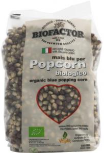 Popcorn Blå Eko 4x500g Biofactor