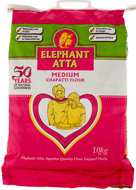 Chapatimjöl 10kg Elephant