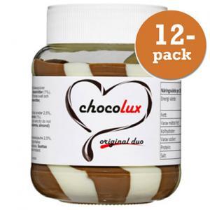 Choklad & Hasselnötscreme Mix 12x350g Chocolux