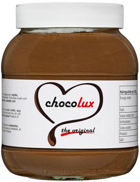 Choklad & Hasselnötscreme 12x350g Chocolux