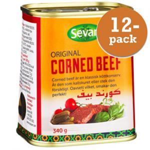 Corned Beef 12x340g Sevan