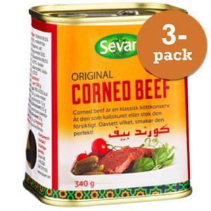 Corned Beef 3x340g Sevan