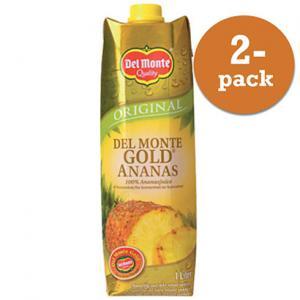 Ananasjuice Gold 2x1l Del Monte