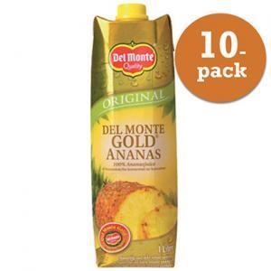 Ananasjuice Gold 10x1l Del Monte