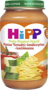 Barnmat 12-17 Mån Pasta Rigatoni Napoli Eko 6x220g Hipp
