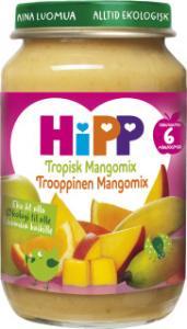 Barnmat 5-7 Mån Tropisk Mangomix Eko 6x190g Hipp
