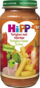 Barnmat 12-17 Mån Tortiglioni M. Kött Eko 6x250g Hipp