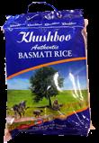 2st basmatiris från Khushboo om 10kg vardera billigt hos Kolonialvaror. Alltid bra pris på skafferivaror i storpack. Perfekt för catering storhushåll restaurang och café. Vi levererar till hela Sverige!