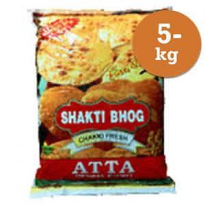 Chapatimjöl 5kg Shakti Bhog