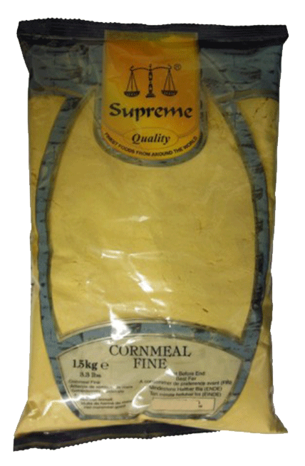 6st glutenfritt majsmjöl från Supreme om 1,5kg vardera billigt hos Kolonialvaror. Alltid bra pris på skafferivaror i storpack. Perfekt för catering storhushåll restaurang och café. Vi levererar till hela Sverige!