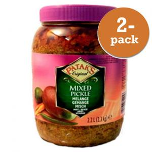 Pickles Blandad Patak´S 2x2,4kg