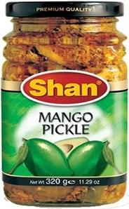 Mango Pickle Shan 3x320g