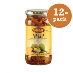 Pickle Blandad Shan 12x320g