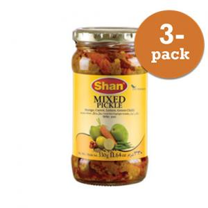 Pickle Blandad 3x320g Shan