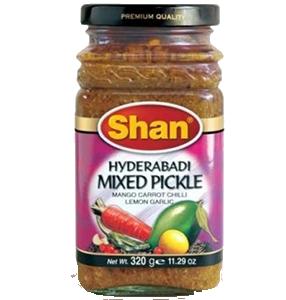 Pickle Hyderabadi 12x30g Shan
